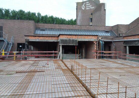 nieuw kantoorgebouw Bio Base Gent